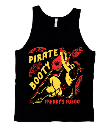 Pirate Booty Black Tank Top