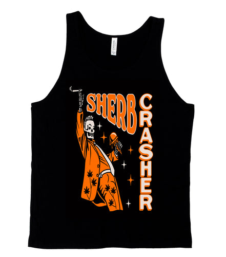Sherb Crasher Black Tank Top