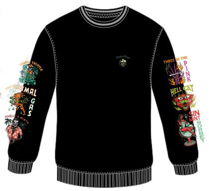 Strain Art Black Long Sleeve