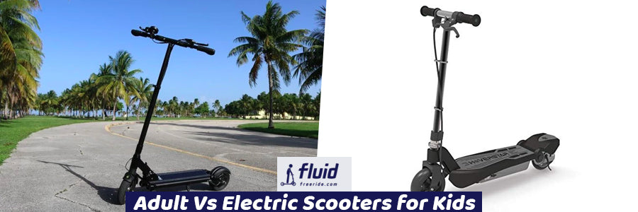Adult Vs Electric Scooters for Kids