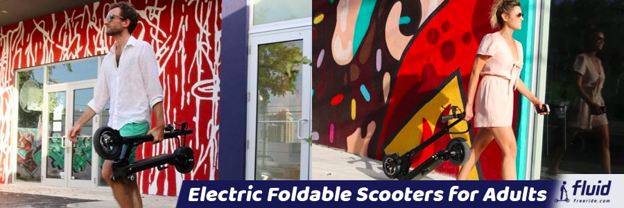 Electric Foldable Scooters for Adults