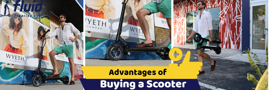 Benefits of Buying Electric Scooter