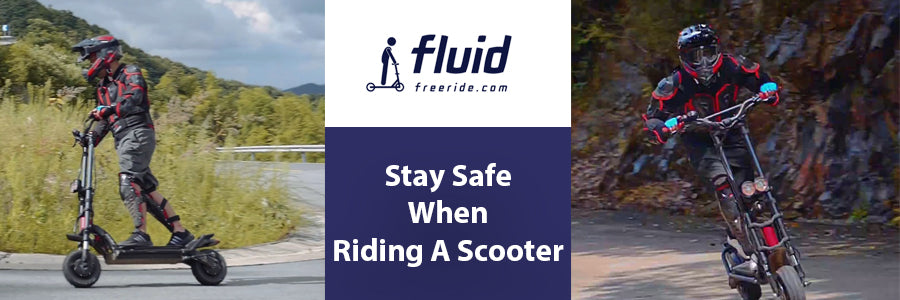 Stay Safe When Riding A Scooter