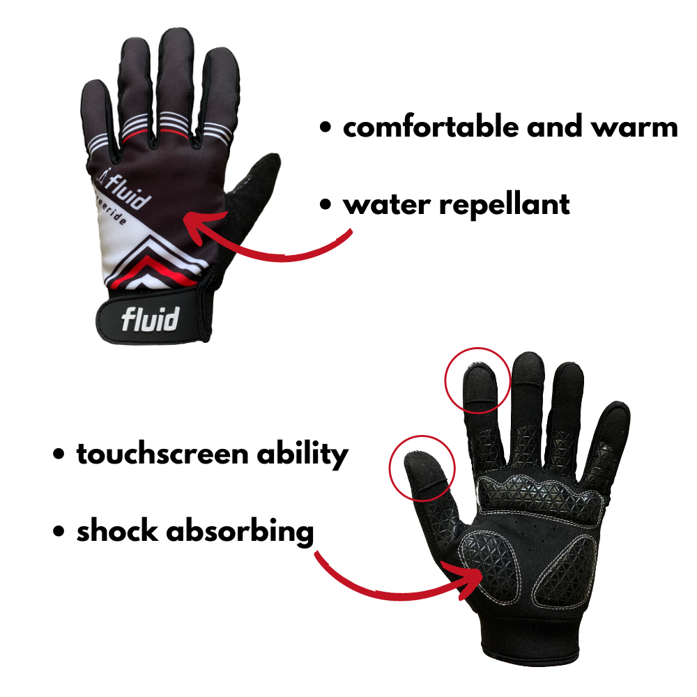 Full Finger Scooting Gloves