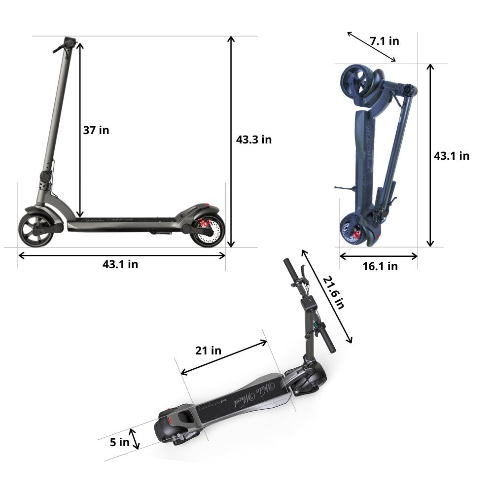 WIDEWHEEL PRO - Unique Design & Dual Motor Power