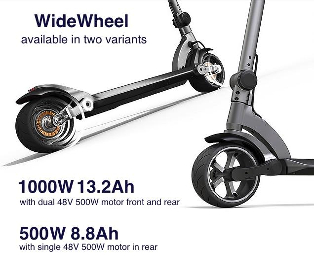 WIDEWHEEL - Unique Design, Power and Comfort