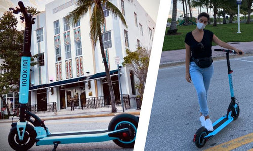 electric scooter miami ocean drive
