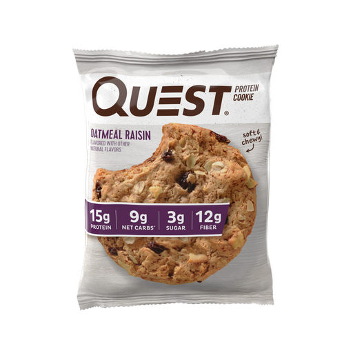 Quest Oatmeal Raisin Flavour Protein Cookie 63g