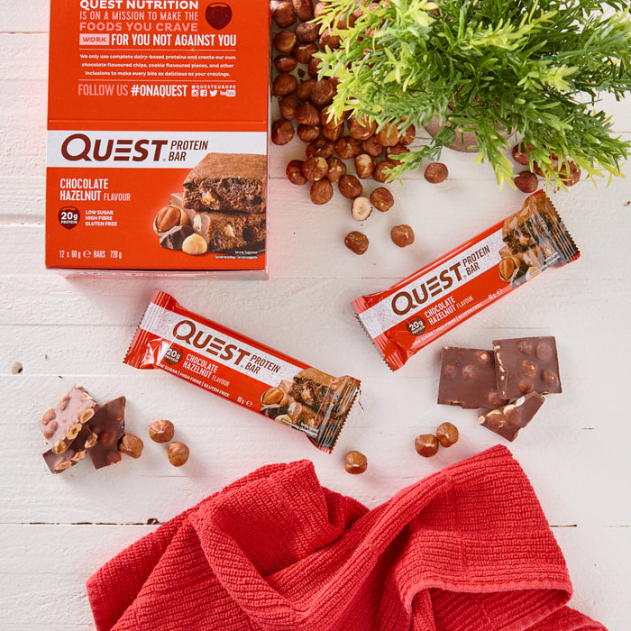 Quest Chocolate Hazelnut Protein Bar 60g
