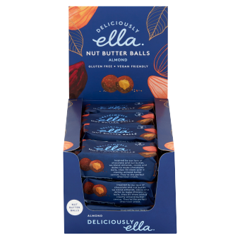 Deliciously Ella Almond Nut Butter Balls 36g - Case of 12 Multisave (Best Before Date: 26/08/2020)