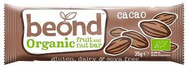 Beond Organic Fruit & Nut Cacao Flavour Bar 35g