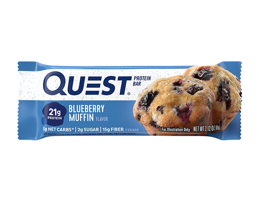 Quest Blueberry Muffin Protein bar 60g