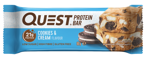 Quest Cookies & Cream Protein Bar 60g