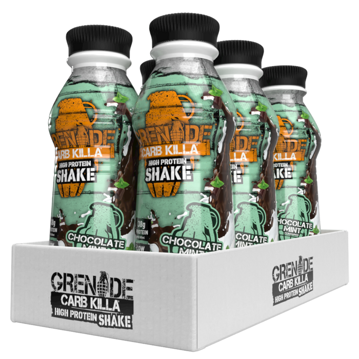 Grenade Chocolate Mint Carb Killa Protein Shake 500ml - Case of 6 Multisave
