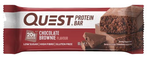 Quest Chocolate Brownie Protein Bar 60g (Best Before Date: 27/10/2020)