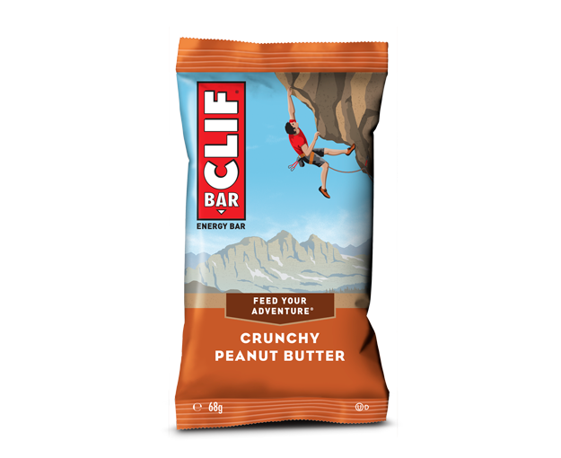 Clif Crunchy Peanut Butter Energy Bar 68g - Case of 12 Multisave