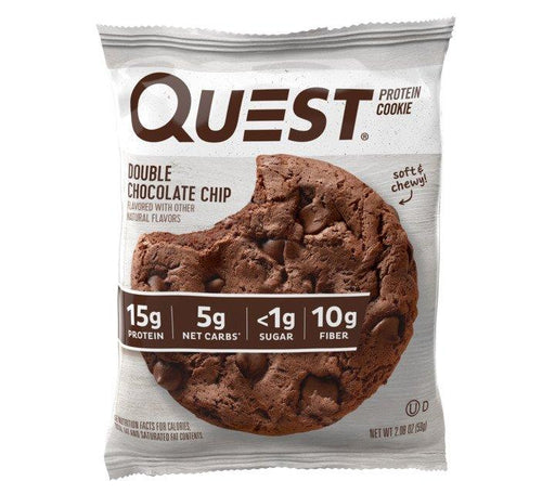 Quest Double Chocolate Chip Flavour Protein Cookie 59g
