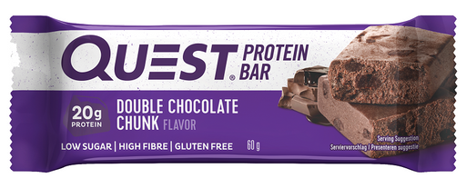 Quest Double Chocolate Chunk Protein Bar 60g
