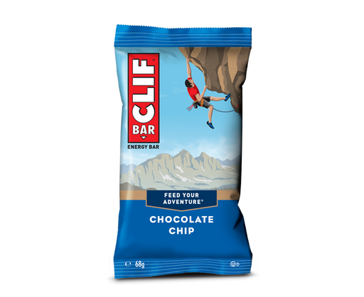 Clif Chocolate Chip flavour Energy bar 68g
