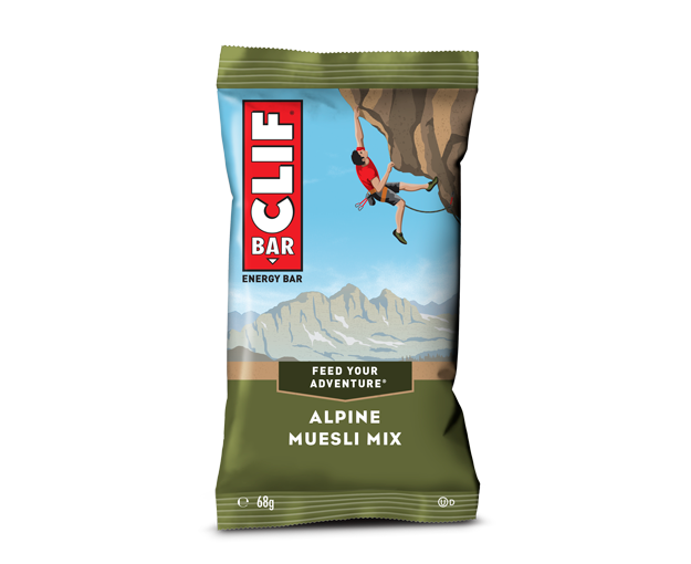 Clif Alpine Muesli Mix Energy bar 68g (Best Before Date: 10/11/2020)