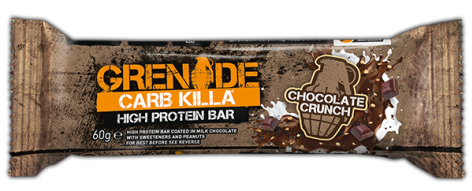Grenade Chocolate Crunch Carb Killa Protein Bar 60g