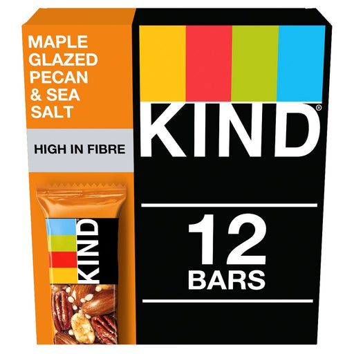 KIND Maple Glazed Pecan & Sea Salt nut bar 40g - Case of 12 Multisave