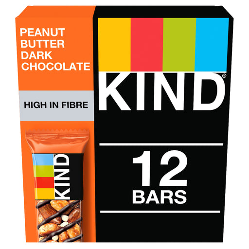 KIND Peanut Butter Dark Chocolate nut bar 40g - Case of 12 Multisave