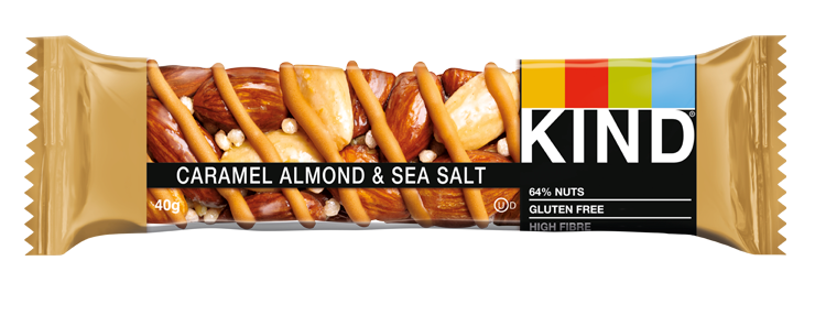 KIND Caramel Almond & Sea Salt nut bar 40g