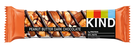 KIND Peanut Butter Dark Chocolate nut bar 40g (Best Before Date: 13/10/2020)