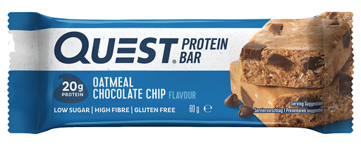 Quest Oatmeal Chocolate Chip Protein Bar 60g