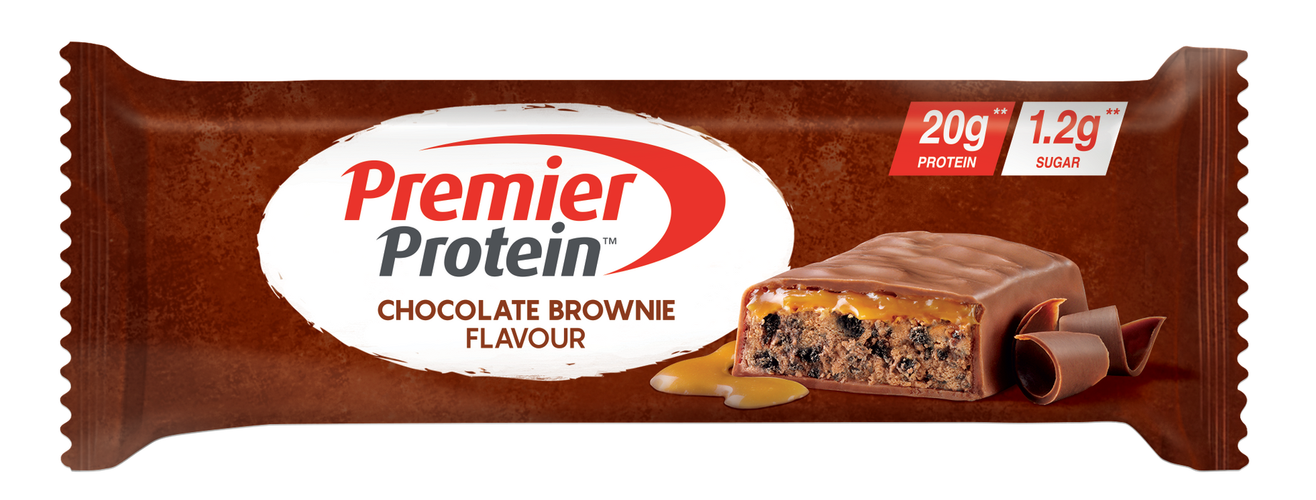 Premier Protein Chocolate Brownie flavour Protein bar 50g (Best Before Date: 28/02/2021)