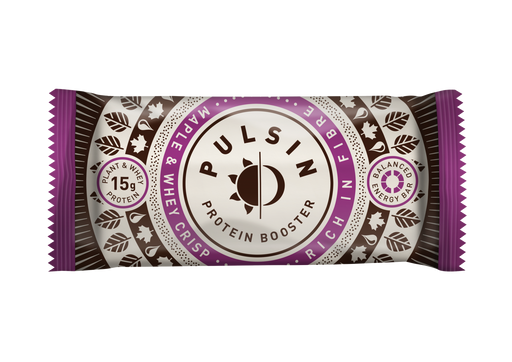 Pulsin Maple & Whey Crisp Protein Booster Bar 50g