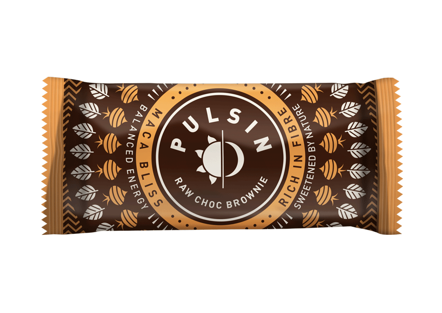 Pulsin Maca Bliss Raw Choc Brownie 50g - Case of 18 bars Multisave