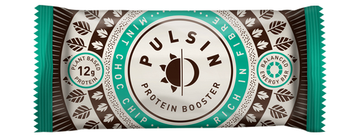Pulsin Mint Choc Chip Protein Booster Bar 50g