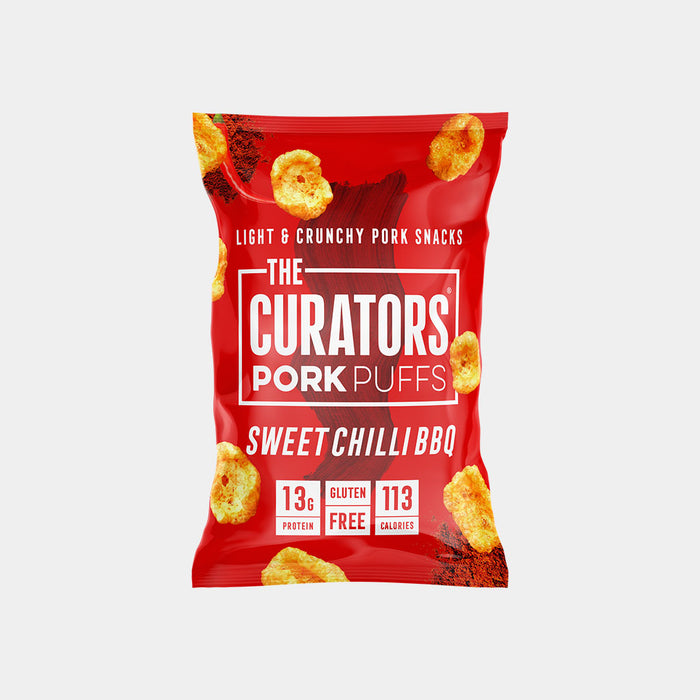 The Curators Sweet Chilli BBQ Pork Puffs 22g