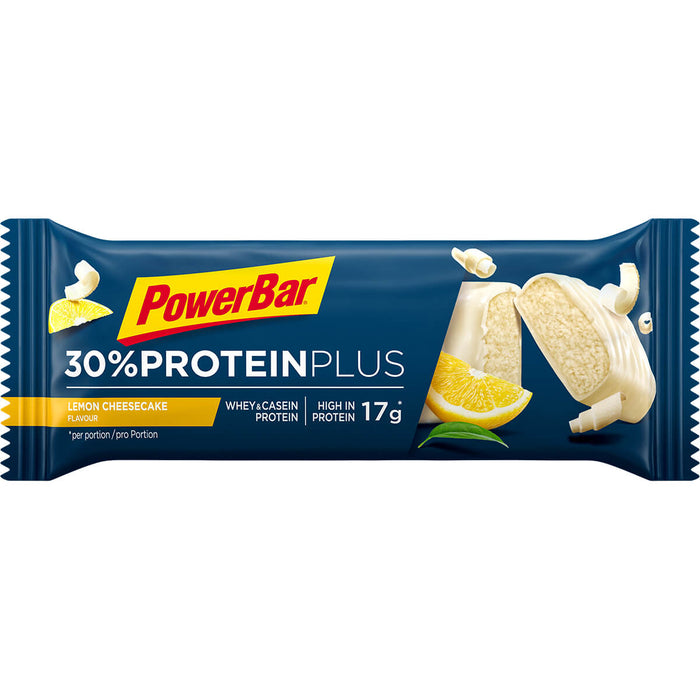 PowerBar Lemon Cheesecake flavour ProteinPlus 30% Protein bar 55g (Best Before Date: 31/01/2021)