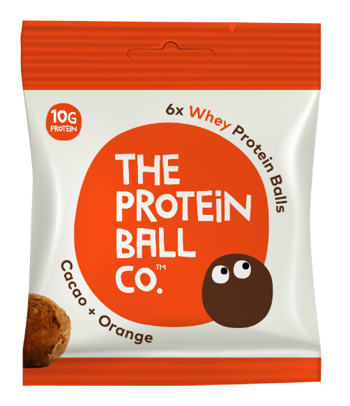 Protein Ball Co. Cacao & Orange Whey Protein Balls 45g