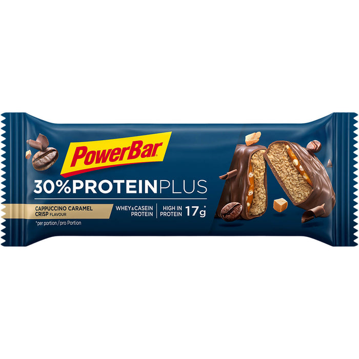PowerBar Cappuccino Caramel Crisp flavour ProteinPlus 30% Protein bar 55g (Best Before Date: Best Before Date: 31/01/2021)