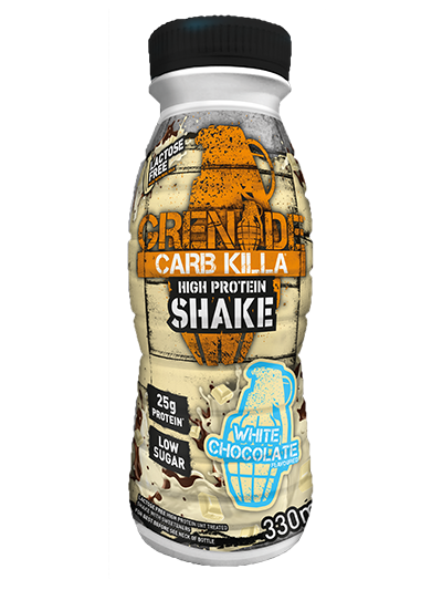 Grenade Carb Killa Protein Shake White Chocolate 330ml (single)