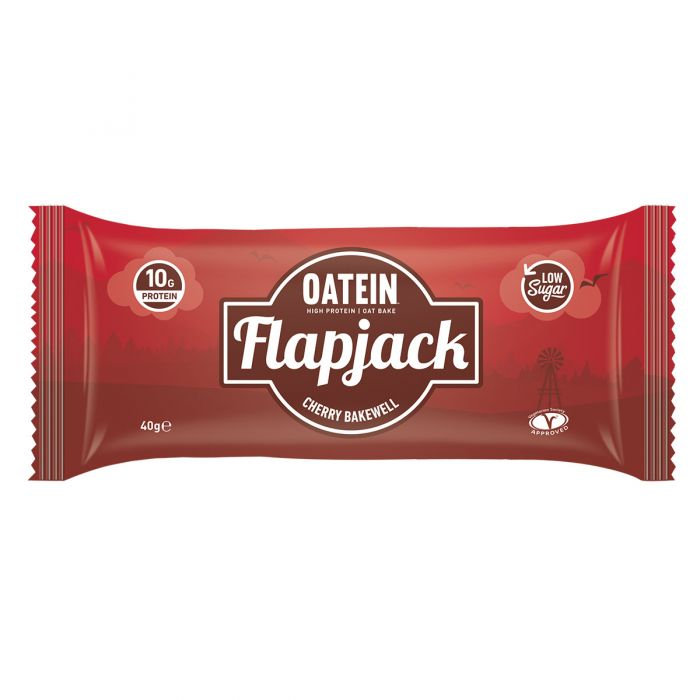 Oatein Cherry Bakewell Protein Flapjack 40g