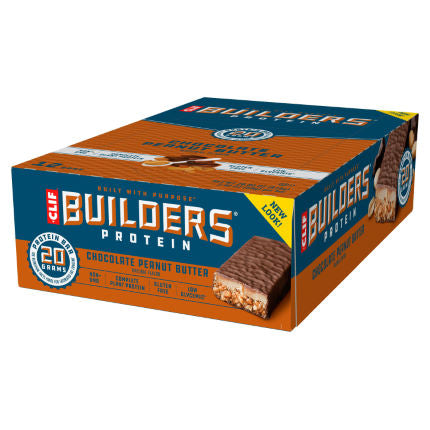Clif Chocolate Peanut Butter Builder's Protein bar 68g - Case of 12 Multisave