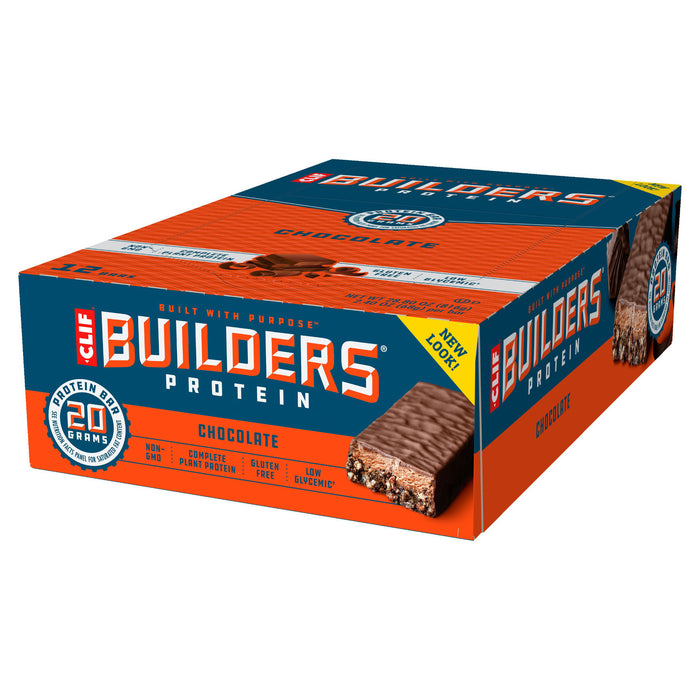 Clif Chocolate Builder's Protein bar 68g - Case of 12 Multisave