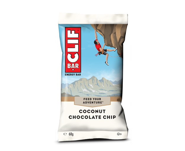 Clif Coconut Chocolate Chip flavour Energy bar 68g
