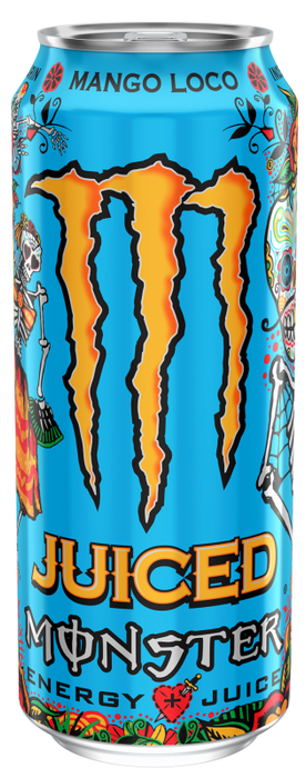 Monster Mango Loco Energy Juice Drink 500ml - Case of 12 Multisave
