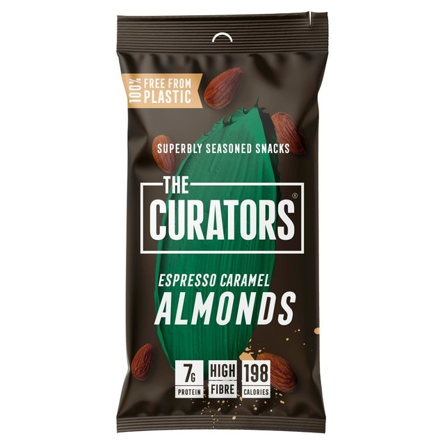 The Curators Espresso Caramel Almonds 35g
