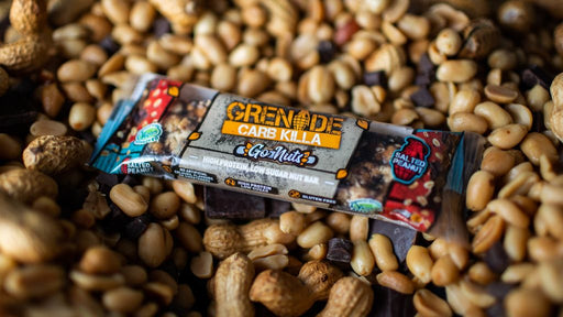 Grenade Carb Killa Go Nuts Salted Peanut Protein Bar 40g