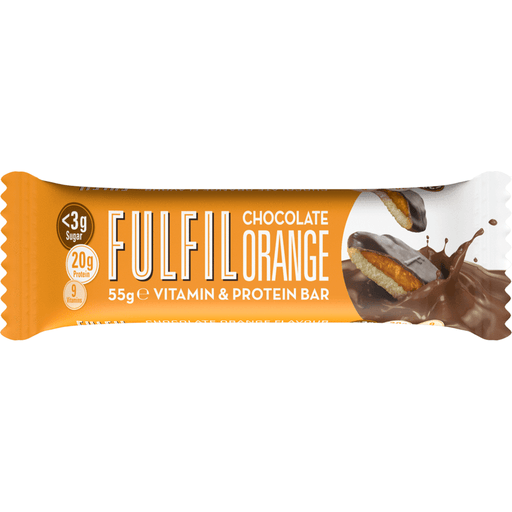 Fulfil Chocolate Orange Protein & Vitamin Bar 55g