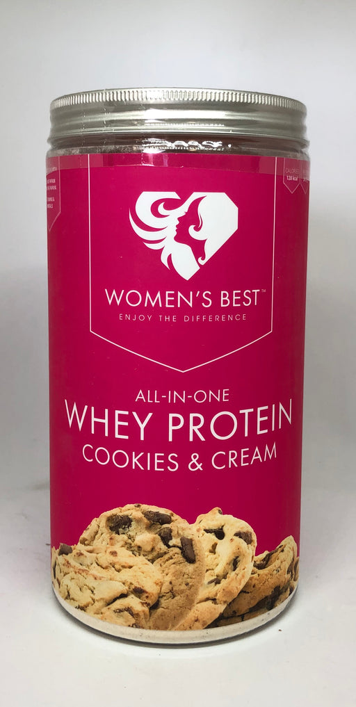 Women's Best All in One Whey, Cookies & Cream Flavour 500g