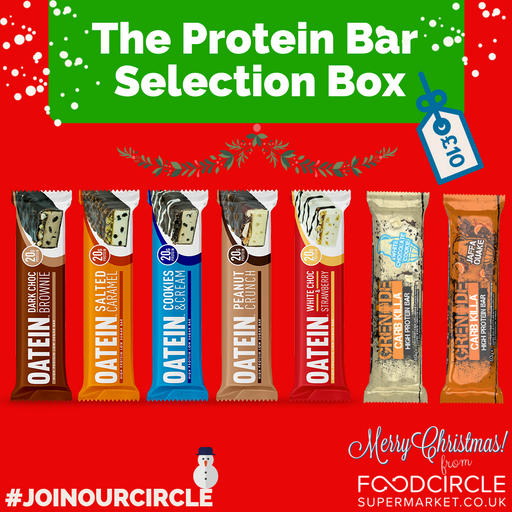 The Protein Bar Selection Box - 7 High Protein Bars