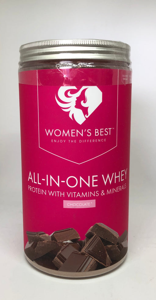 Women's Best All in One Whey, Chocolate Flavour 500g